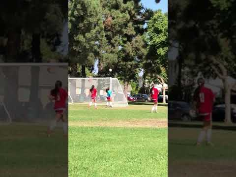 Natalie gets a hat trick 10/08/17 Greater Long Beach FC