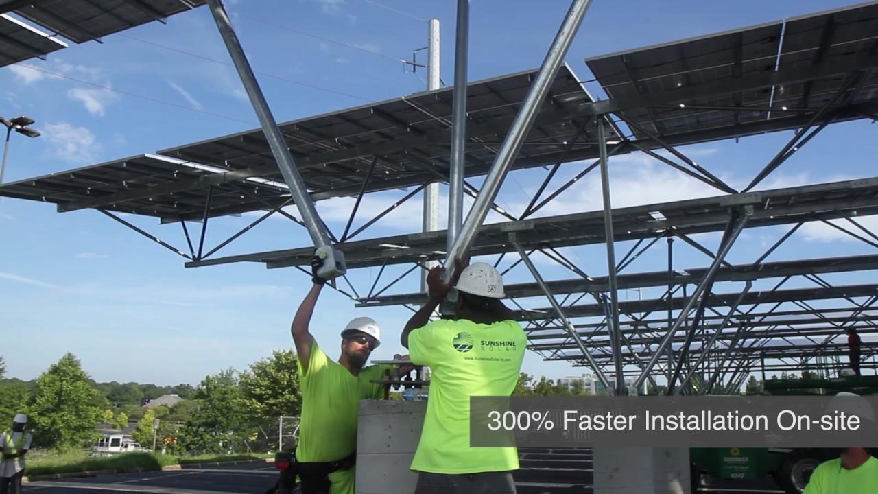 QuadPod Canopy Time-lapse Atlanta GA Installation & QuadPod Canopy Time-lapse Atlanta GA Installation - YouTube