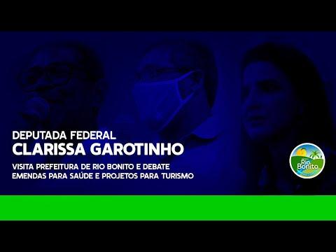 CLARISSA GAROTINHO APRESENTA EMENDAS PARA SAÚDE EM RIO BONITO