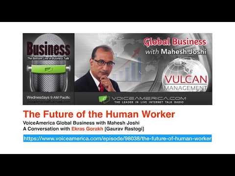 WebTalk on Future of the Human Worker
