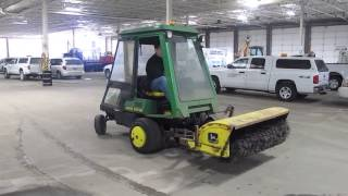 Big Iron on Line Auction John Deere F925 Lawn Mower