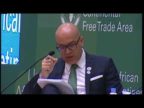 Opening plenary at the African Continent Free Trade Area (AfCFTA) Business Forum