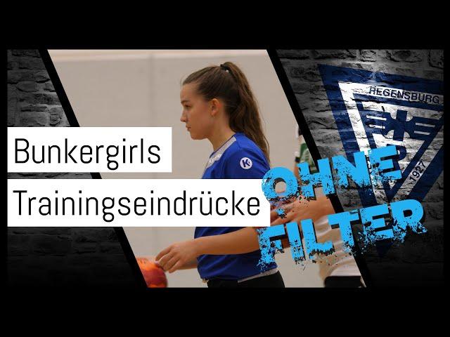 Bunkergirls in der Vorbereitung #OHNEFILTER