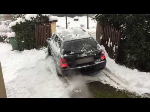 Audi Snow en Suisse.