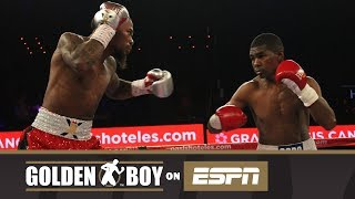 Golden Boy On ESPN: Lamont Roach Jr vs Deivis Julio Bassa (FULL FIGHT)