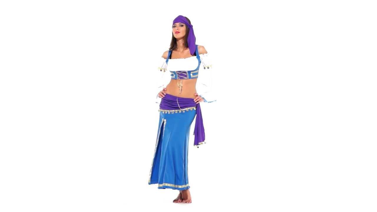 Цыганский костюм. Представляем автора! - YouTube