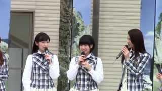 HKT48 2期生 朝長美桜ちゃんが誰かのためにプロジェクトに参加した時の...