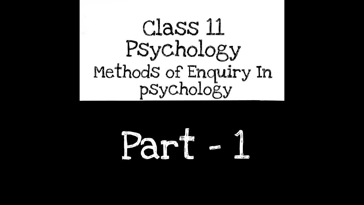 Ncert Psychology Class 11 Pdf In Hindi