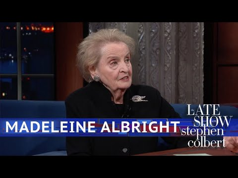 Madeleine Albright Says 'See Something, Say Something, Do Something'
