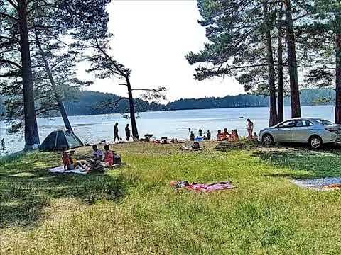 Озеро Круглое поселка Самусь города Северск Томской области