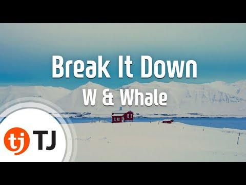 [TJ노래방] Break It Down - W & Whale / TJ Karaoke