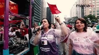 Deputada Marcia Lia -  Ato unificado #8M  na Avenida Paulista