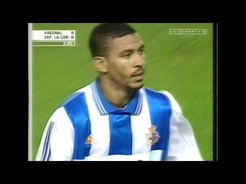 Arsenal 5 - 1 Deportivo La Coruna UEFA cup 1999/00 FULL MATCH