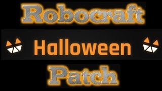Robocraft - Halloween Patch Changes! - Spooky Face, New Cubes And Bat Wings!