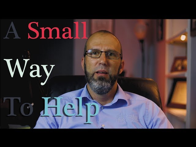 Do A Small Thing And Play A Big Part