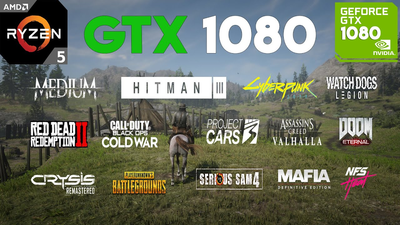 Download GTX 1080 Test in 20 Games in 2021