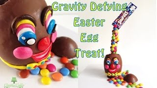 Gravity Defying Easter Egg Treat From Creative Cakes By Sharon
