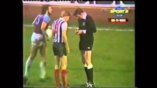 West Ham Vs Grimsby Town 1980
