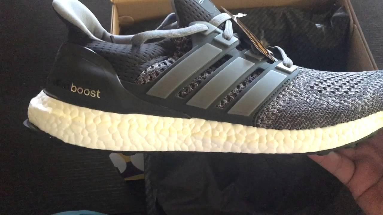 98bccb1cb5e82 Adidas Ultra Boost LTD Mystery Grey Gray Colorway - YouTube