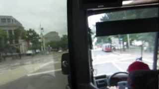 新大統領がパレードするペンシルバニア通りワシントンDC FBI本部の秘密