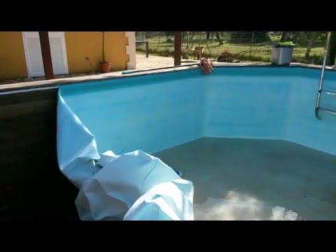 Sustitución Cambiar Liner En Piscina De Madera Gre Toi Fontyreg Youtube