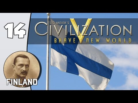 Road to the United Nations - Civilization V (With Mods): Finland - Part 14