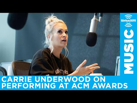 Carrie Underwood on her ACM Awards performance