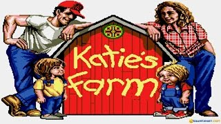 Katie's Farm gameplay (PC Game, 1991)