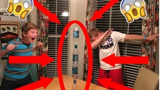 UNBELIEVABLE Water Bottle Flip Trickshots 2