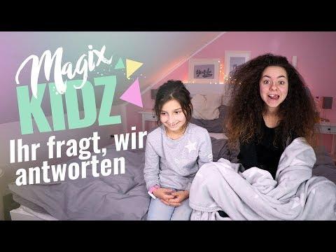 Q&A / Eure Fragen / magixkidz / MAGIXTHING