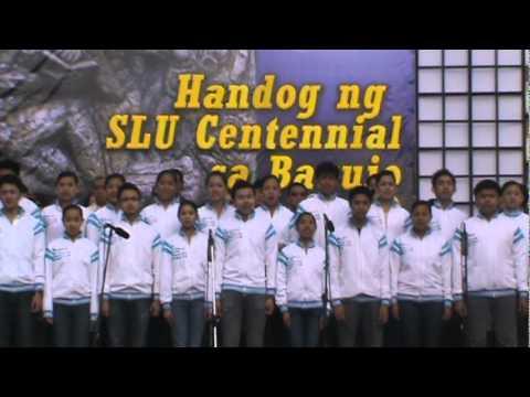 SLU Hymn - Handog ng SLU Centennial sa Baguio