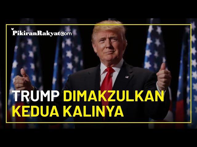 Donald Trump Menjadi Presiden Amerika Pertama yang Dimakzulkan 2 Kali oleh Parlemen AS