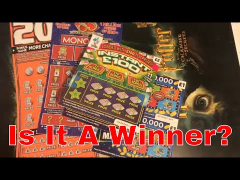 Winning Video From National Lottery Sratch Cards By NL Dreams (019)