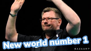 Re ranking the PDC top 16 based on time inside top 16