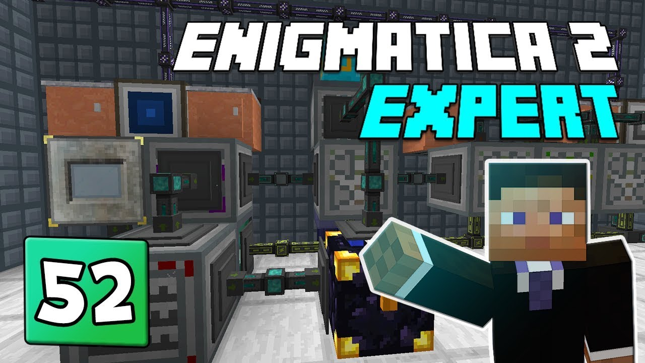 Enigmatica 2: Expert Mode - EP 52 Calcium Sulfate & Shaft