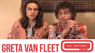 Greta Van Fleet's Josh Talks His Fro