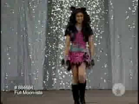 Fashionista Werewolf Costume for Girls & Fashionista Werewolf Costume for Girls - YouTube