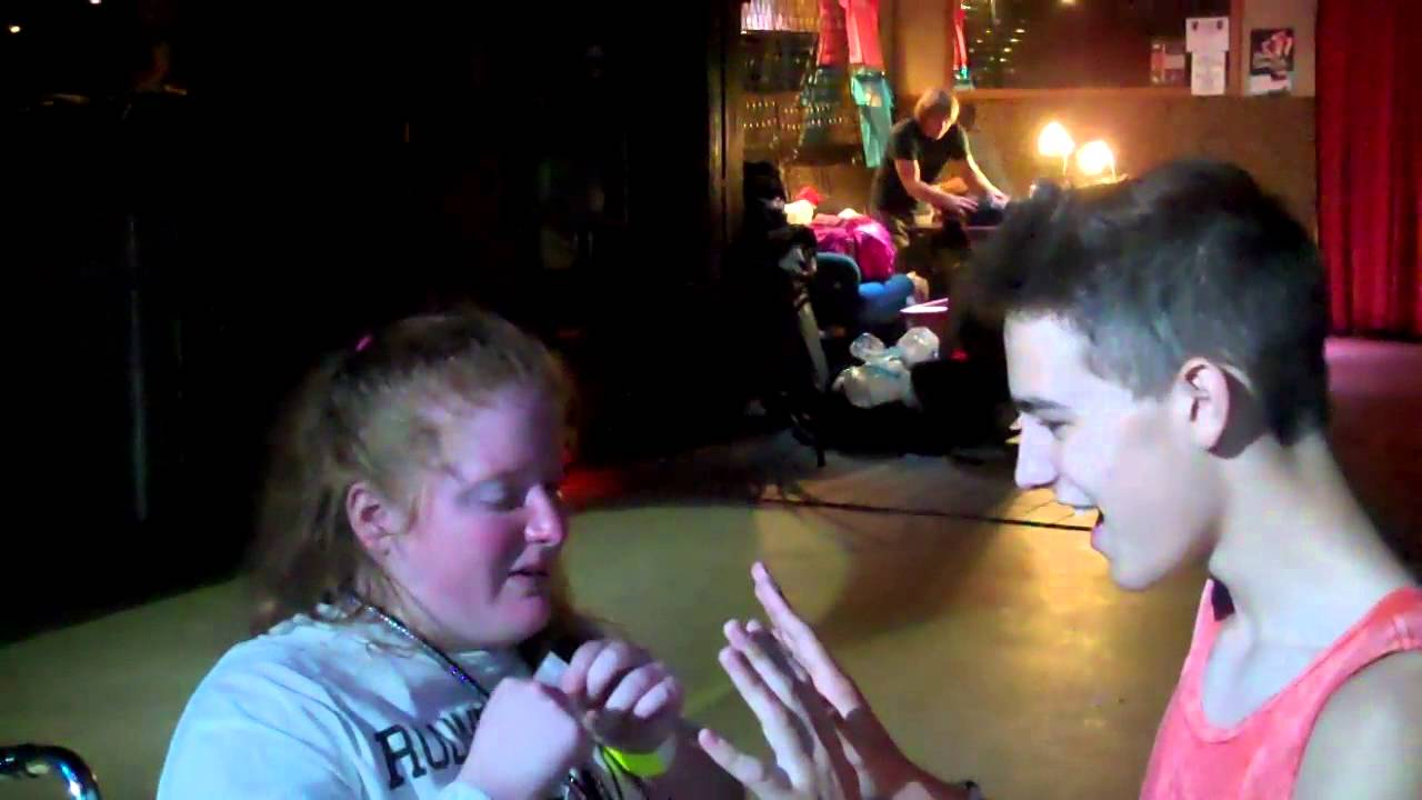Katy Bowersox OMG Music Platinum VIP Experience Meeting Dylan Holland, Jacob Whitesides, Gran