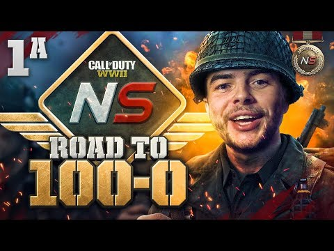 Road to 100-0 is BACK! - Ep. 1A - The Duo is Back! (Call of Duty:WW2)