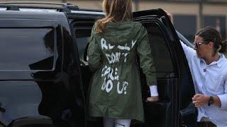 Melania Trump: une veste qui fait polémique
