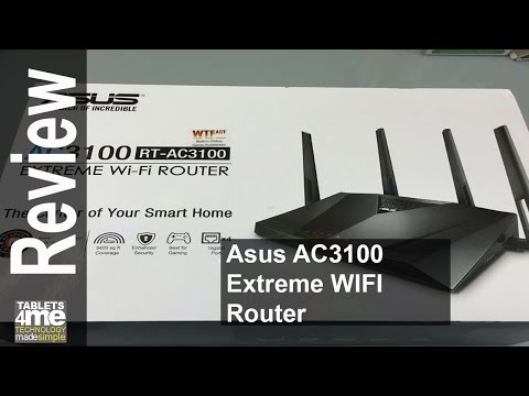 ASUS RT-AC88U AC3100 Router Unboxing and Review
