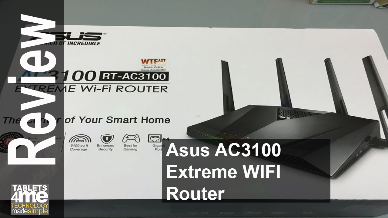 Asus rt ac88u ac3100 router unboxing and review youtube greentooth Image collections