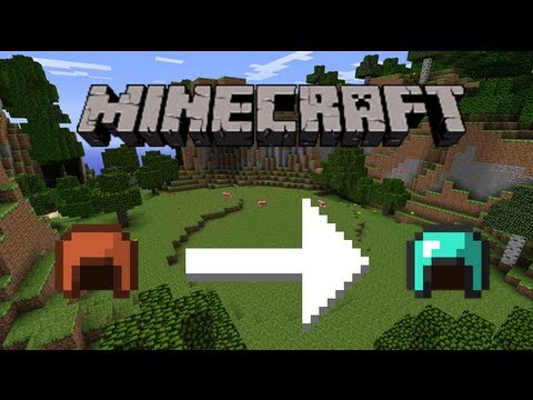 Minecraft Dye Leather Armor To Diamond Youtube