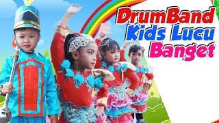 Best video Drum band anak/Kids - Drumband anak TK mayoretnya bikin heboh ✿ Uyyus Fun Video
