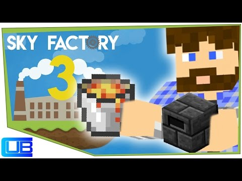Infinite Smeltery Fuel | Sky Factory 3 | Ep 3