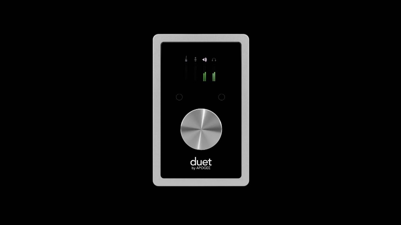Apogee Duet - best audio interfaces for mac