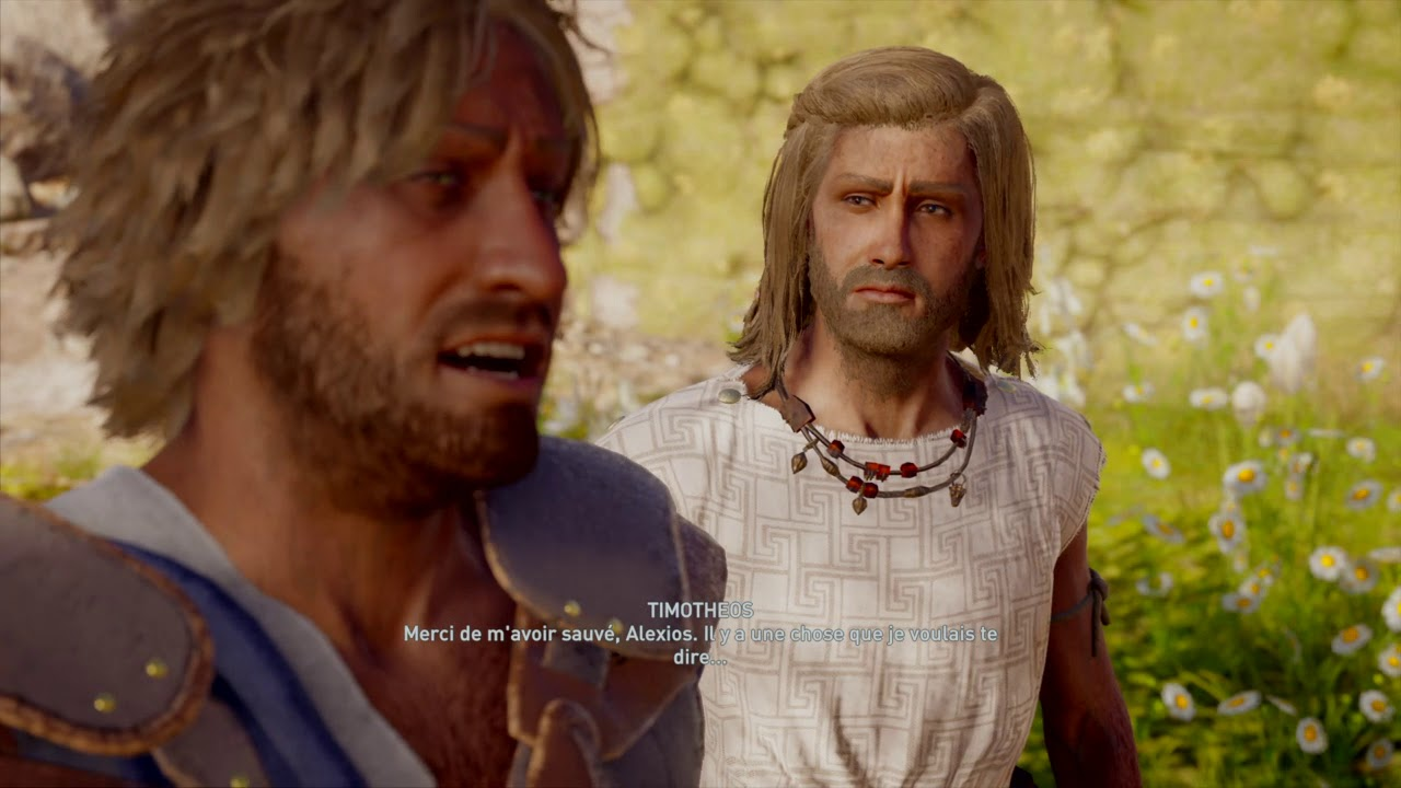 Assassin S Creed Odyssey Romance Gay Francais Alexios Lykinos 08