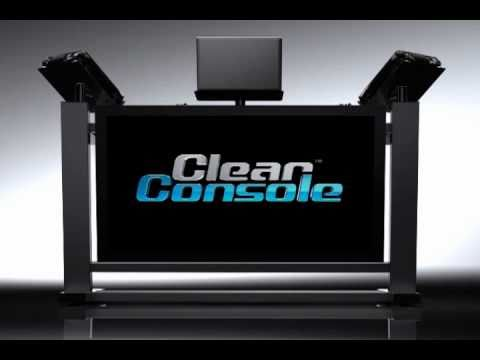 DJ Booth with LCD Display | Clear Console LCD-Pro