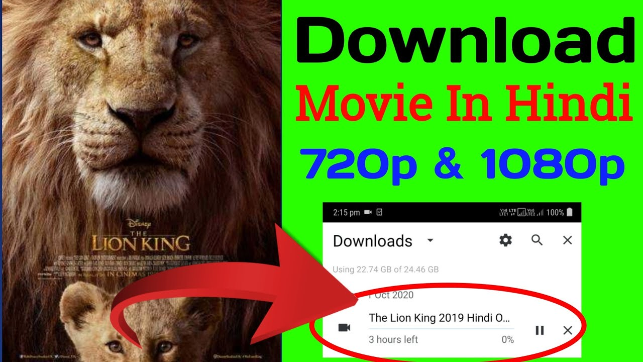 Download [100%] How to download the lion king full movie in hindi    download the lion king full movie