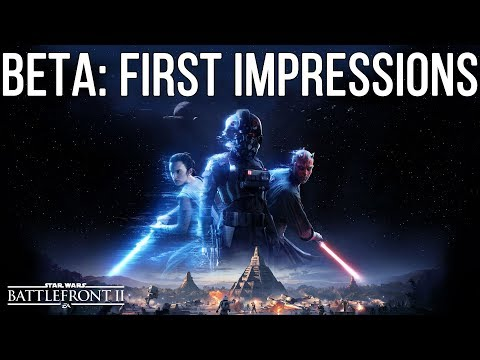 """EA response to """"Pay to Win"""" & Beta impressions - Battlefront 2"""